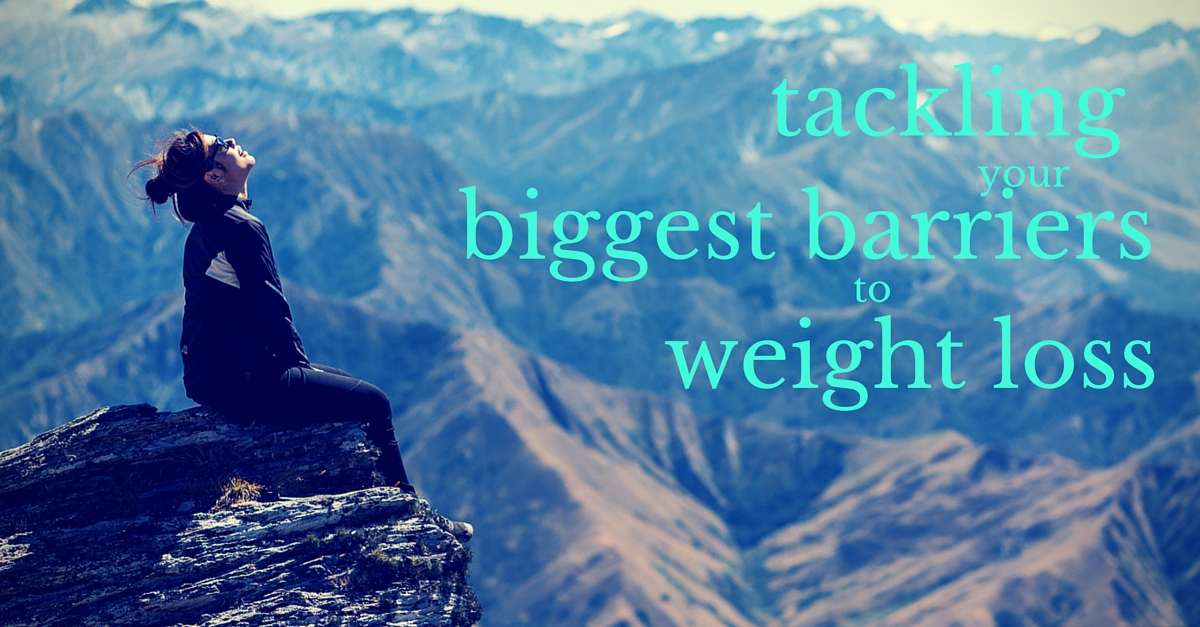 biggest barriers to weight loss
