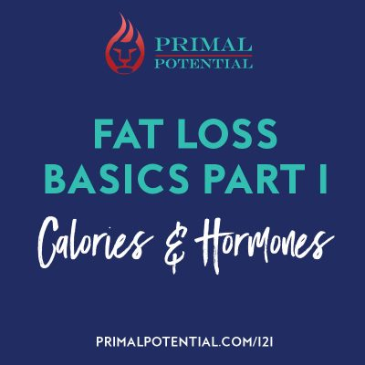 Ep 121: Fat Loss Basics Part 1 – Calories & Hormones