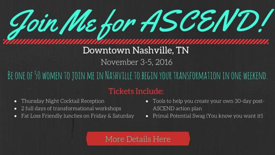 Join Me in Nashville for Ascend!