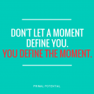you define the moment
