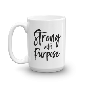 strong with purpose light at heart