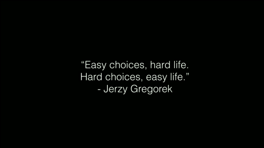 the hard choices in life Making hard choices quotes - 1 decisions are hard to make, when you don't have a choice, life is hard to live, when you are suffering inside.