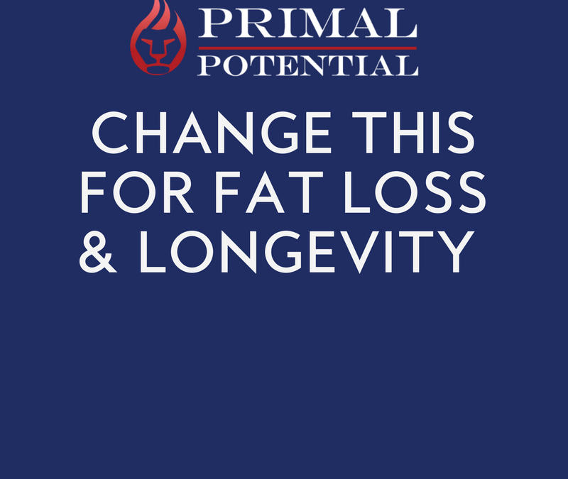 453: Change THIS For Fat Loss & Longevity