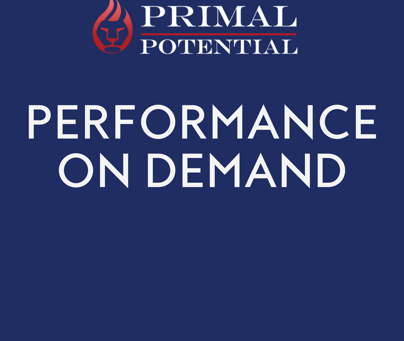 473: Performance On Demand