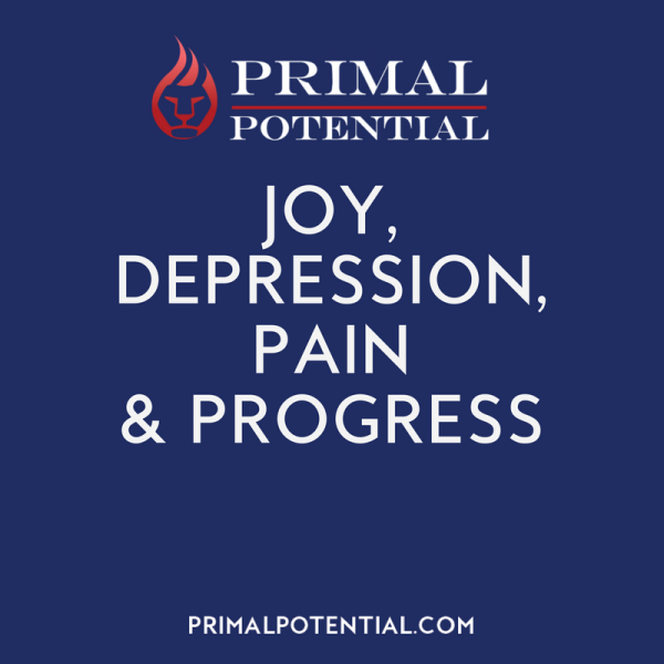 490: Joy, Depression, Pain & Progress