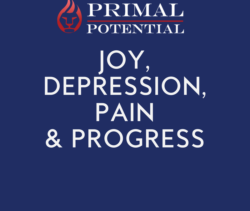 490: Joy, Depression, Pain & Progress