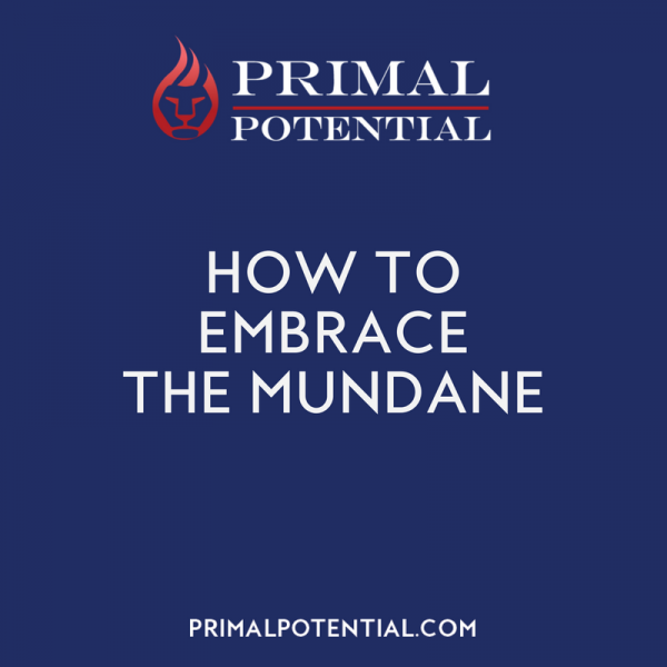 502: How To Embrace The Mundane