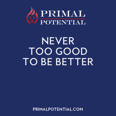 508: Never Too Good To Be Better