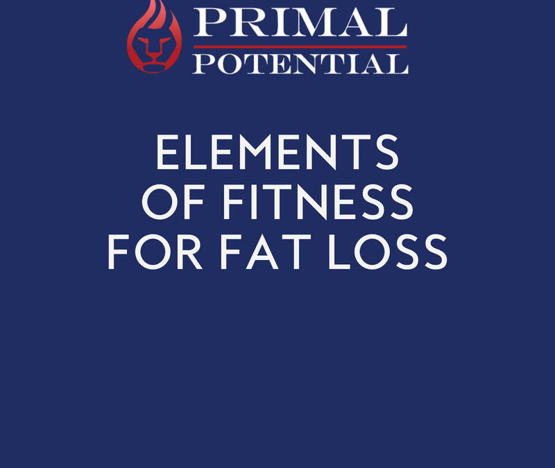 513: Elements of Fitness for Fat Loss