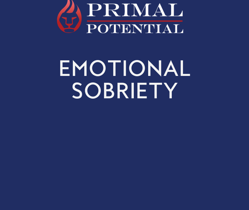 529: Emotional Sobriety