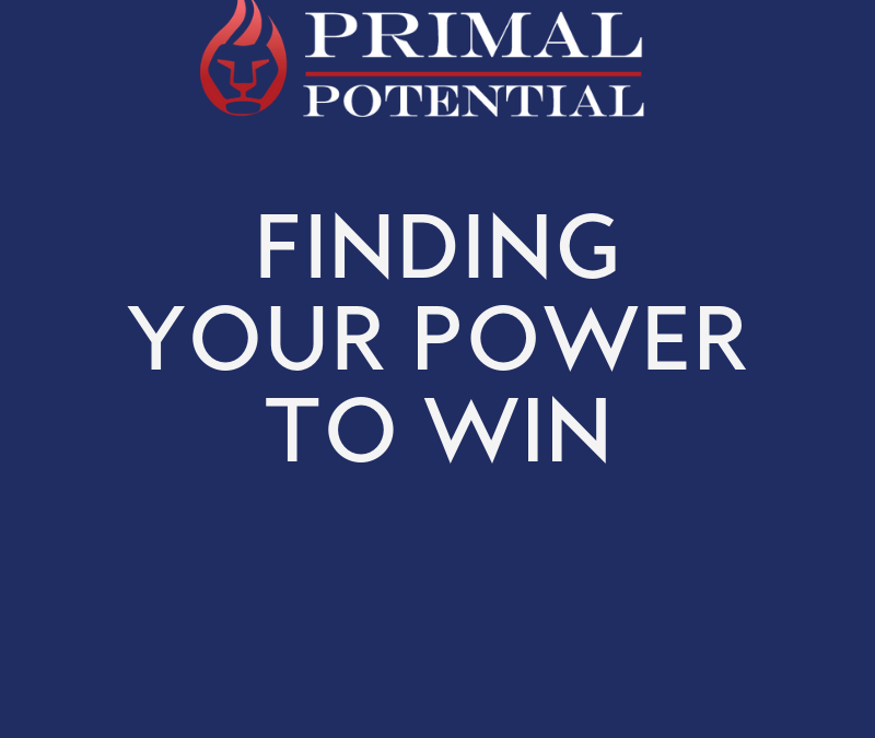 532: Finding Your Power to Win
