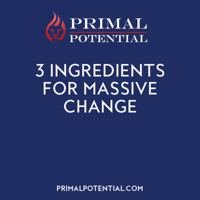 530: 3 Ingredients For Massive Change