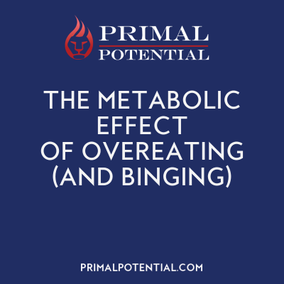 527: The Metabolic Effect of Overeating (And Binging)