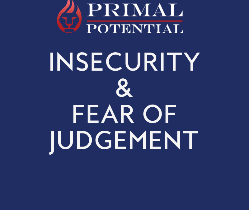 543: Insecurity & Fear of Judgement