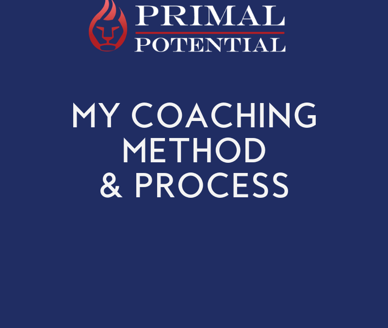550: My Coaching Method & Process