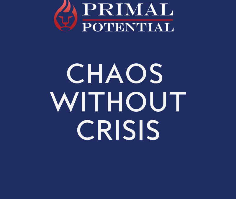 553: Chaos Without Crisis