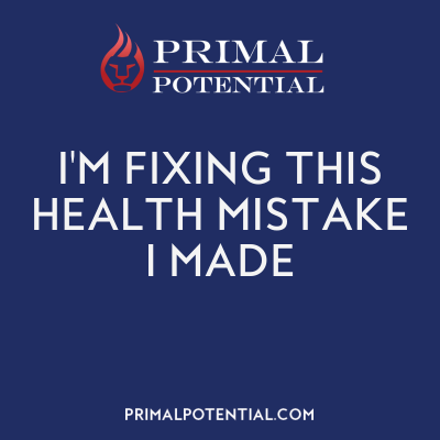 554: I'm Fixing This Health Mistake I Made
