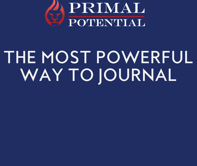 559: The Most Powerful Way to Journal
